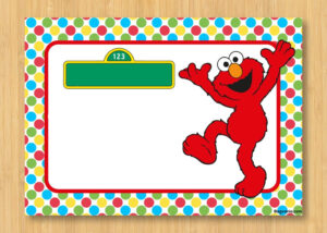 Download Free Printable Elmo Birthday Invitations | Bagvania intended for Elmo Birthday Card Template