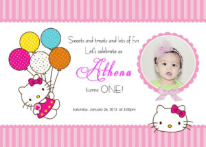 Download Free Template Hello Kitty Printable Birthday in Hello Kitty Birthday Card Template Free