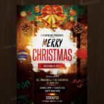 Download Merry Christmas – Free Psd Flyer Template | Free Regarding Christmas Brochure Templates Free