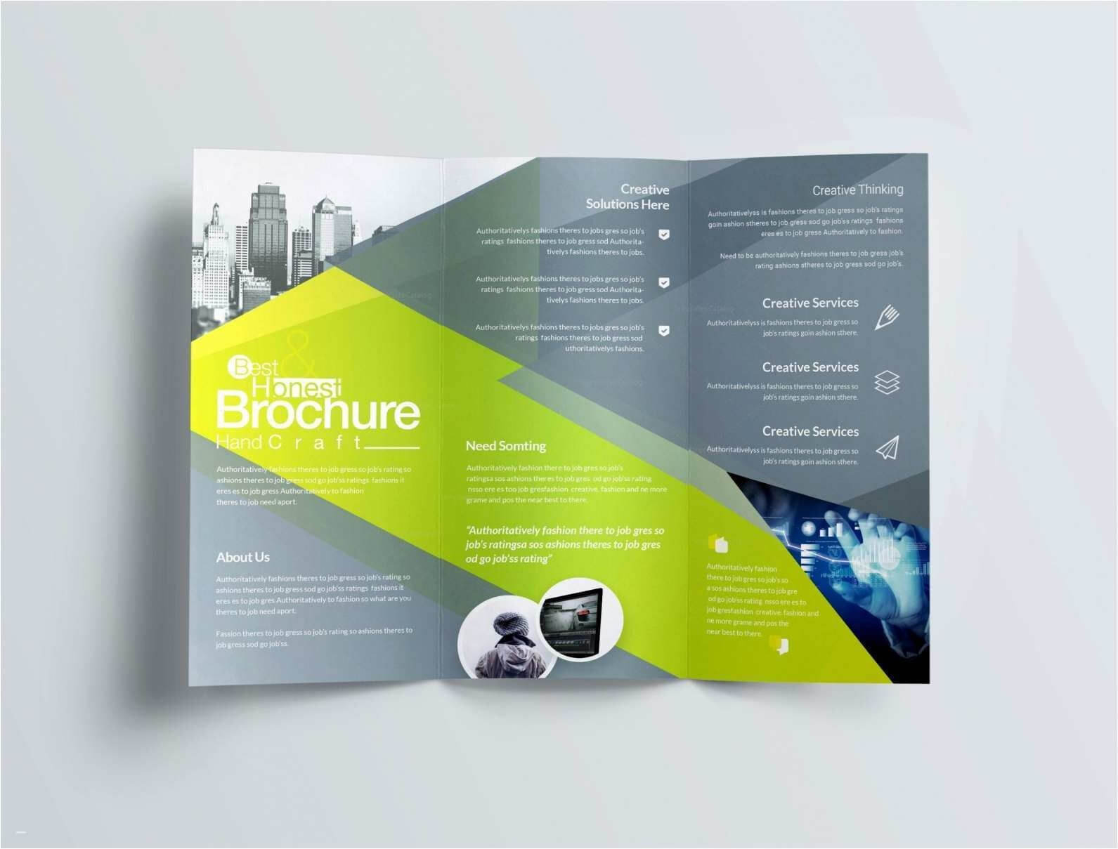 Download New Double Sided Business Card Template Word Can For Double Sided Tri Fold Brochure Template