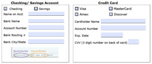 Download Recurring Payment Authorization Form Template inside Credit Card Billing Authorization Form Template
