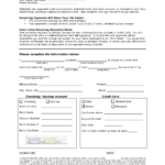 Download Recurring Payment Authorization Form Template With Credit Card Billing Authorization Form Template
