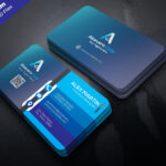 Download Unique Creative Business Card Template Psd Set For Inside Visiting Card Templates Psd Free Download