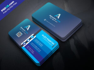 Download Unique Creative Business Card Template Psd Set For pertaining to Download Visiting Card Templates