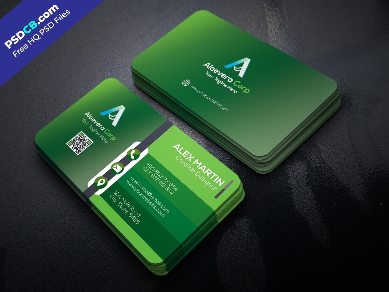 Download Unique Creative Business Card Template Psd Set For Throughout Unique Business Card Templates Free