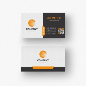 Download White And Black Business Card Template Free in Black And White Business Cards Templates Free