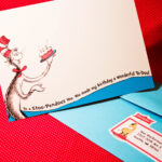 Dr. Seuss Party Series  Invites! – With Dr Seuss Birthday Card Template
