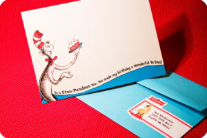 Dr. Seuss Party Series- Invites! – with Dr Seuss Birthday Card Template