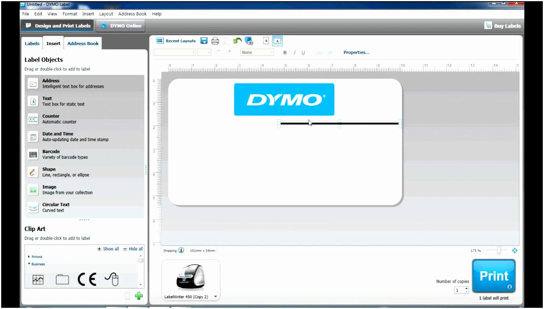 Dymo Label Template Word – Docxword Within Dymo Label Templates For Word
