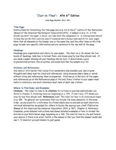 ✓ Apa Style Paper 6Th Edition Template Example #3343 | Visions4 with Word Apa Template 6Th Edition