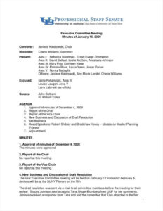 ✓ Meeting Summary Report Template Example #5222 | Visions4 for Rapporteur Report Template