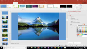 Easily Create A Photo Slideshow In Powerpoint Within Powerpoint Photo Slideshow Template