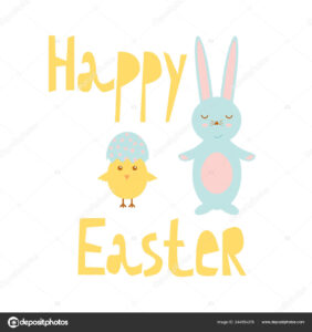 Easter Chick Templates | Happy Easter Greeting Card Template regarding Easter Chick Card Template
