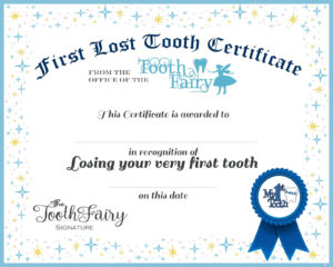 Easy Tooth Fairy Ideas & Tips For Parents / Free Printables throughout Tooth Fairy Certificate Template Free