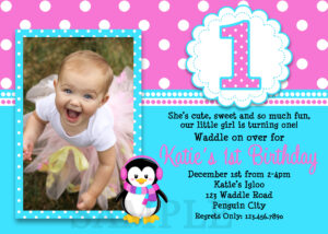 Editable 1St Birthday Boy Invitation Card Free Download throughout First Birthday Invitation Card Template