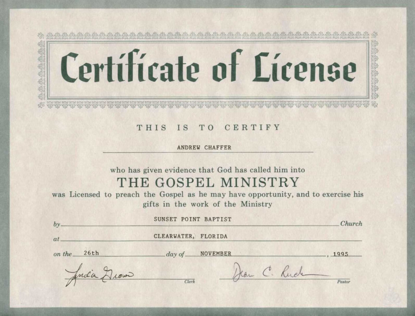 Editable 8 Best Photos Of Printable Certificate Of License Throughout Certificate Of License Template