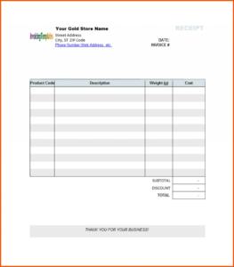 Editable Blank Invoice Template Free Printable Receipt within Free Printable Invoice Template Microsoft Word