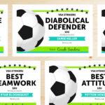 Editable Soccer Award Certificates – Instant Download Within Soccer Award Certificate Templates Free