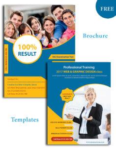 Education Psd Brochure Templates | Brochure Design in Brochure Design Templates For Education