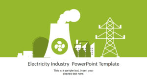 Electricity Industry Powerpoint Template pertaining to Nuclear Powerpoint Template