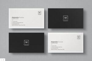 Elegant Business Cards Uk Black And White Design Inspiration in Black And White Business Cards Templates Free