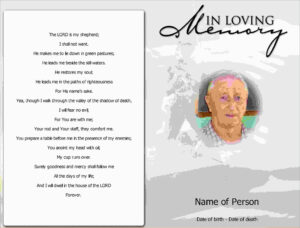 Elegant Free Death Announcement Card Templates | Best Of with Death Anniversary Cards Templates