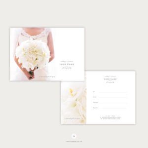 Elegant Gift Certificate Template For Wedding Photographers – The Flying  Muse pertaining to Elegant Gift Certificate Template
