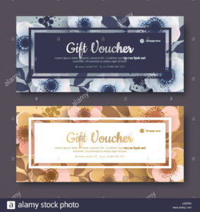Elegant Gift Voucher, Coupon Template. Template For The inside Elegant Gift Certificate Template