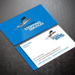 Elegant, Playful, Business Business Card Design For A Regarding Plastering Business Cards Templates
