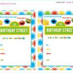 Elmo Birthday Invitation Template Free – Template : Resume Pertaining To Elmo Birthday Card Template