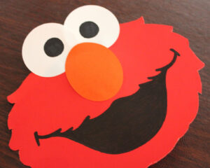 Elmo Pop-Up Card – Repeat Crafter Me with Elmo Birthday Card Template