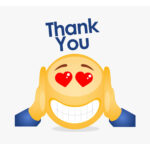 Emoji Thank You Card Pertaining To Powerpoint Thank You Card Template