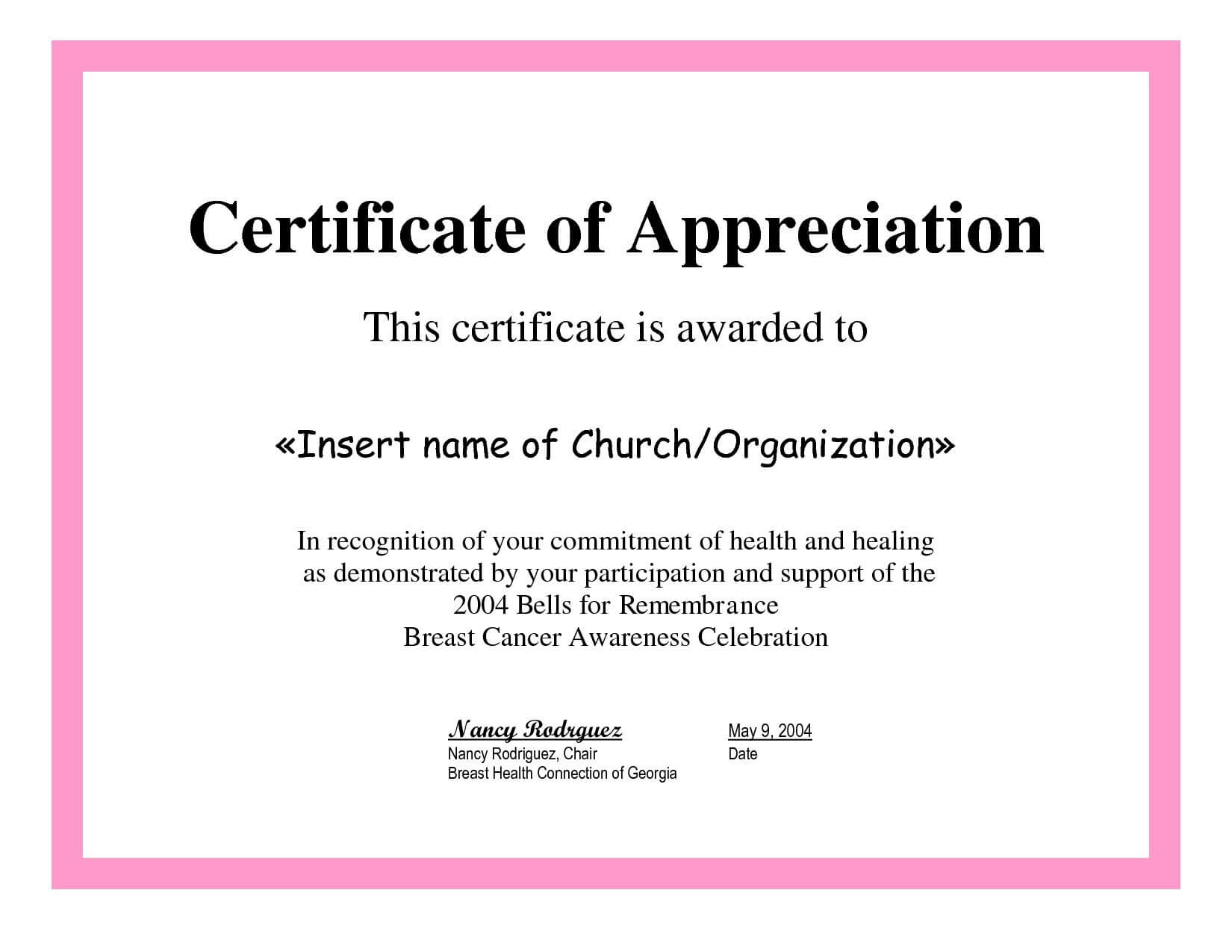 Employee Appreciation Certificate Template Free Recognition With Best Teacher Certificate Templates Free