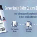 Employee Id Badges & Cards Ordered Online With Free Design Pertaining To Photographer Id Card Template