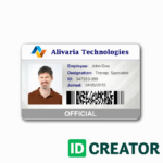 Employee Id Card Template The Miracle Of Employee Id Card Regarding Work Id Card Template