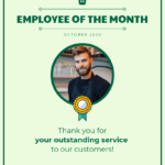 Employee Of The Month Certificate Template Template – Venngage Throughout Employee Of The Month Certificate Template With Picture