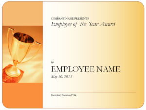 Employee-Of-The-Year-Certificate-Blank with Employee Of The Year Certificate Template Free