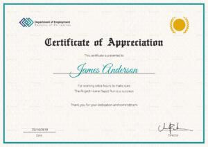 Employee Service Certificate Template inside Employee Certificate Of Service Template