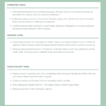 Employee Weekly Activity Report Template - Venngage intended for Monthly Activity Report Template