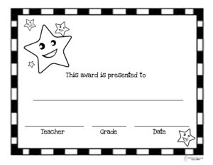 End Of The Year Awards (44 Printable Certificates Within Classroom Certificates Templates