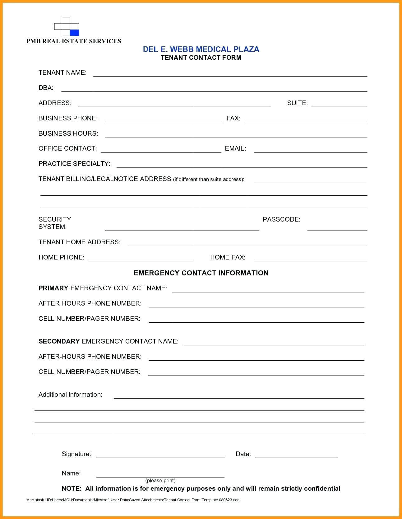 Enquiry Form Template – Bestofpage.co Regarding Enquiry Form Template Word