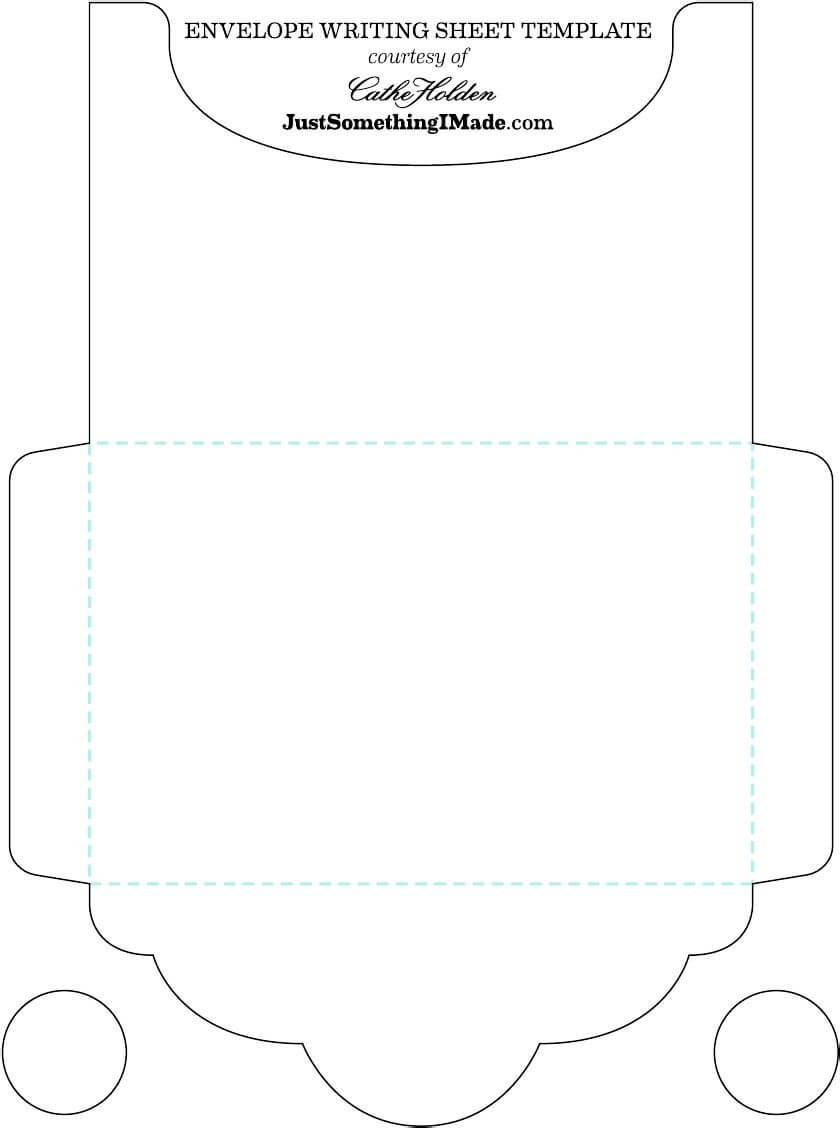 Envelope Template | Calligraphy, Hand Lettering, Card Making With Regard To Envelope Templates For Card Making