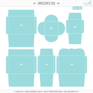 Envelope Templates And .svg's! | Card With Sleeve/ Envelope inside Envelope Templates For Card Making