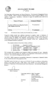 Environmental Management Bureau Region 1 with regard to Compliance Monitoring Report Template