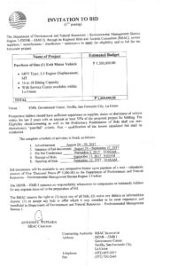 Environmental Management Bureau Region 1 within Compliance Monitoring Report Template
