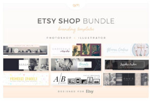 Etsy Shop Bundle – Web Elements – Etsy Banners – Etsy pertaining to Etsy Banner Template