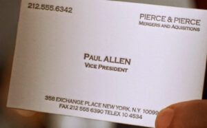 Euro United] Roman Abramovitch Has Been Looking To Sell inside Paul Allen Business Card Template