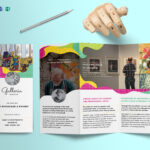 Event And Artistic Tri Fold Brochure Template With Tri Fold Brochure Publisher Template