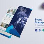 Event Management Tri Fold Brochure Template For Tri Fold Brochure Publisher Template