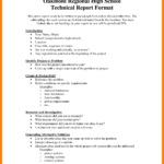 Example Of Technical Report Writing Istudyathes Architecture Within Template For Technical Report